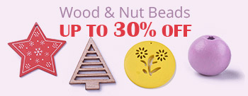 Wood & Nut Beads