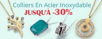 Colliers En Acier Inoxydable Jusqu'À  -30%