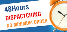 48Hours Dispactching No Minimum Order