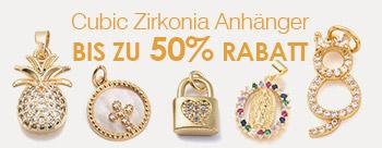 Cubic Zirkonia Anhänger Bis Zu 50% Rabatt