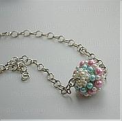 How to make pearl jewelry- a piece of individual handmade pearl jewelry