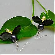 How to make earrings with wire-a pair of cute earrings according to firefly