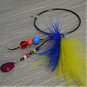 Earring making instructions-How to make feather earrings with basic jewelry making Pliers