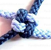 How to tie a lanyard knot, Monkey Fist knot and Wrapped Knot