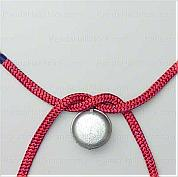Step by step knots tying-How to tie a half knot