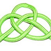 Step by step knots diagram instructions- How to make a Josephine knot