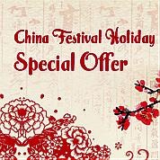 China Festival Holiday Special Offer