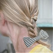 How to Make Bows for Hair Clips