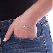 Try on cross jewelry to show your charm