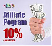 Nbeads Affiliate Program – 10% Commission