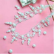 Nbeads Tutorials on How to Make  Multilayer Pearl Necklace
