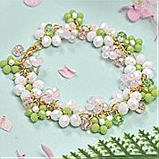 Nbeads Tutorials on How to Make  Fresh and Beautiful Flower Crystal Bracelet