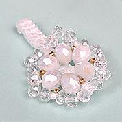 Nbeads Tutorials on How to Make Elegant Flower Shaped White Beaded Ring