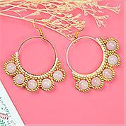 Nbeads Tutorials on How to Make Popular Big Pendants Dangle Earrings