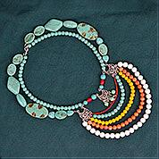 Nbeads Tutorials on How to Make  Bohemian Style Multi-layer Necklace
