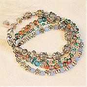 Nbeads Tutorials on How to Make  Vintage Style Beaded Multi-Layer Bracelet