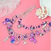Nbeads Tutorials on How to Make  Marine Style Multi-Layer Necklac