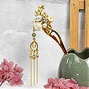 Nbeads Tutorials on How to Make  Chinese Tassel Hairpin