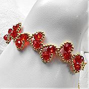 Nbeads Tutorials on How to Make  Heart Beaded Bracelet