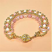 Nbeads Tutorials on How to Make  Gemstone Beaded Bracelet