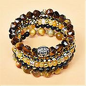 Nbeads Tutorials on How to Make Beaded Multilayer Bangle