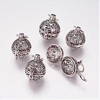 Bead Cage Pendants