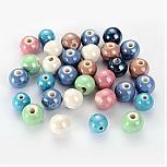 Perles En Porcelaine