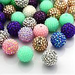 Perles Strass en résine