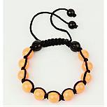 Bracelets Tressés Avec Perles