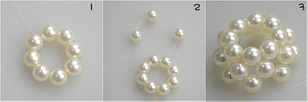 How to make pearl jewelry step1