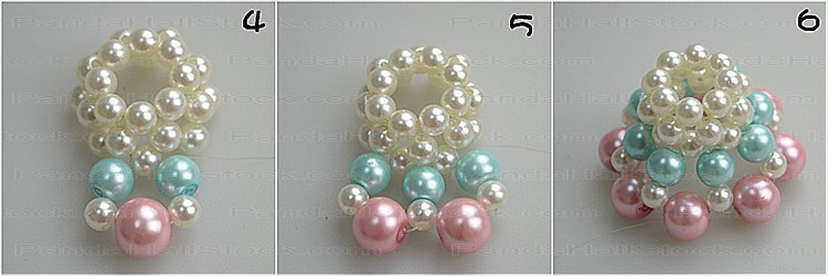 How to make pearl jewelry step2