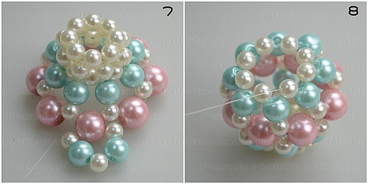 How to make pearl jewelry step3