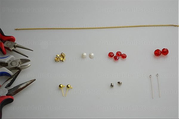 Tools needed in this earring making instructions