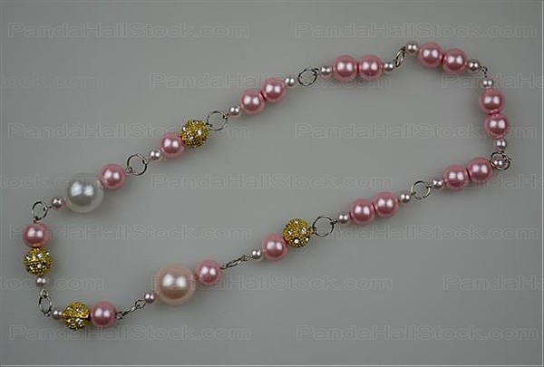 how to make a pearl necklace step3