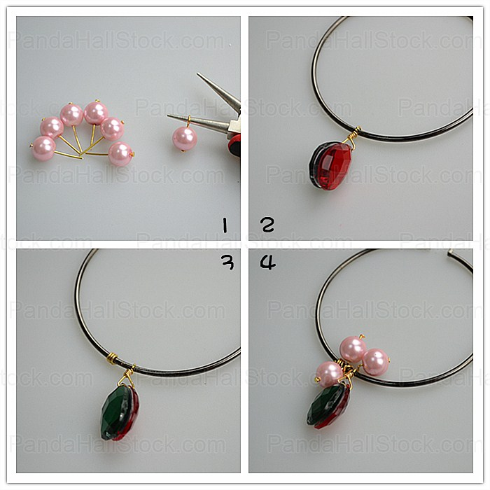 how to make hoop earrings main steps