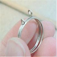 Free wire jewelry tutorial step 2