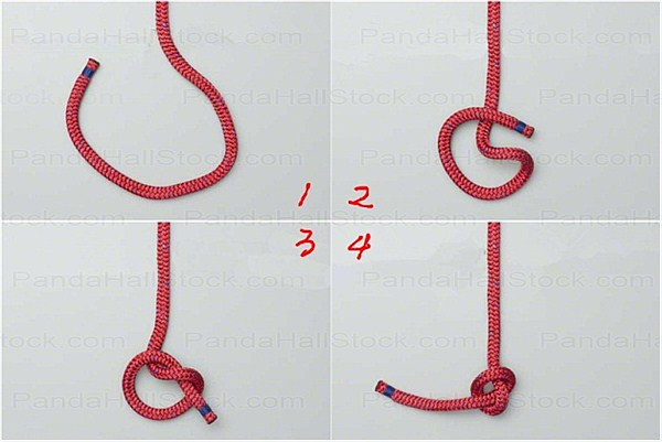 Overhand knot instructions