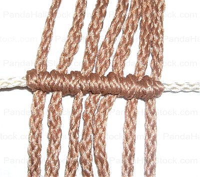 how to tie a double half hitch knot