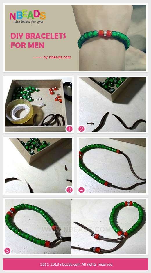 DIY bracelets for men