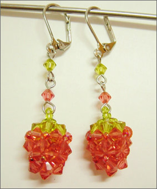 strawberry ornaments