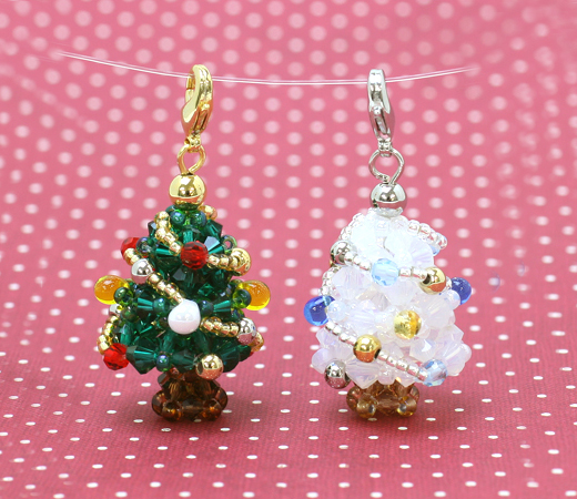 Decorate Christmas Tree With Beads: Beaded Christmas Tree Pattern