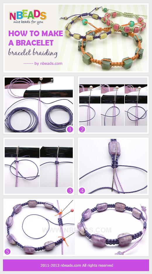 how to make a bracelet-bracelet braiding