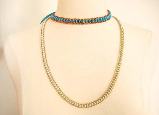 ribbon jewelry ideas