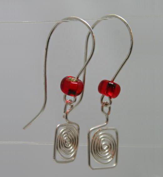 Tutorial On Making Wire Earrings Nbeads