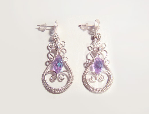 Diy Earrings By Wire Twisting Nbeads