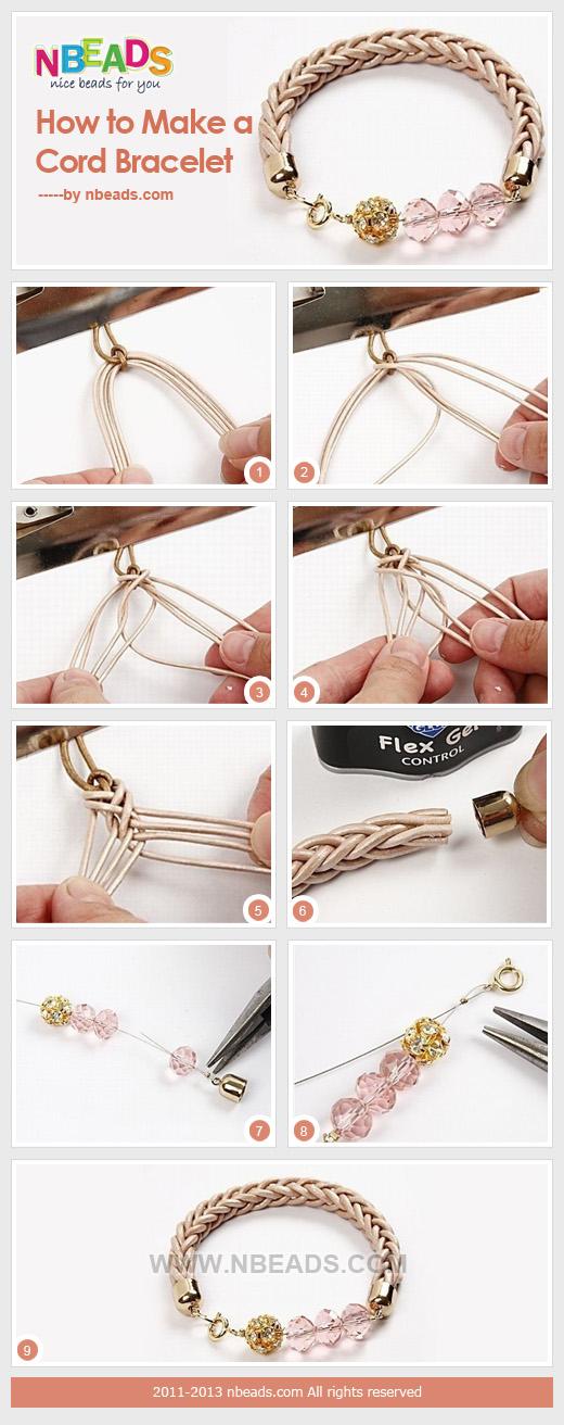 How To Make A Cord Bracelet Nbeads