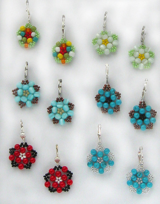 jewelry designs make earrings floweret nbeads