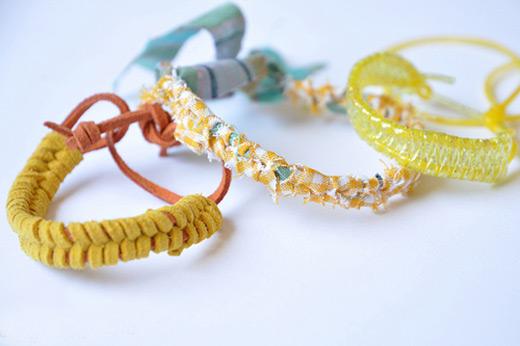 making leather bracelets