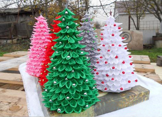 Ribbon Craft Ideas - Ribbon Christmas