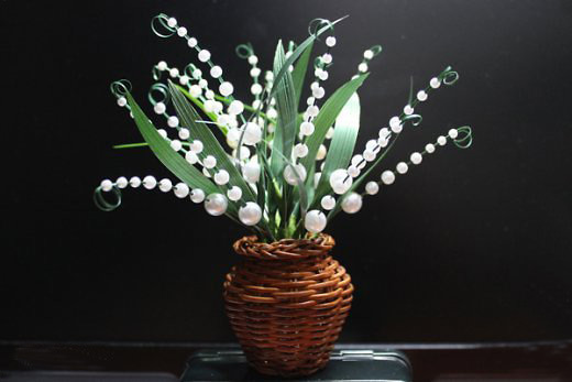 DIY Crafts for Home Decor Make A Fake Flower with Pearls Nbeads